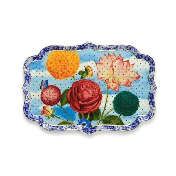 PIP Πορσελάνινη Πιατέλα Σερβιρίσματος 'Royal Floral' Δ26
