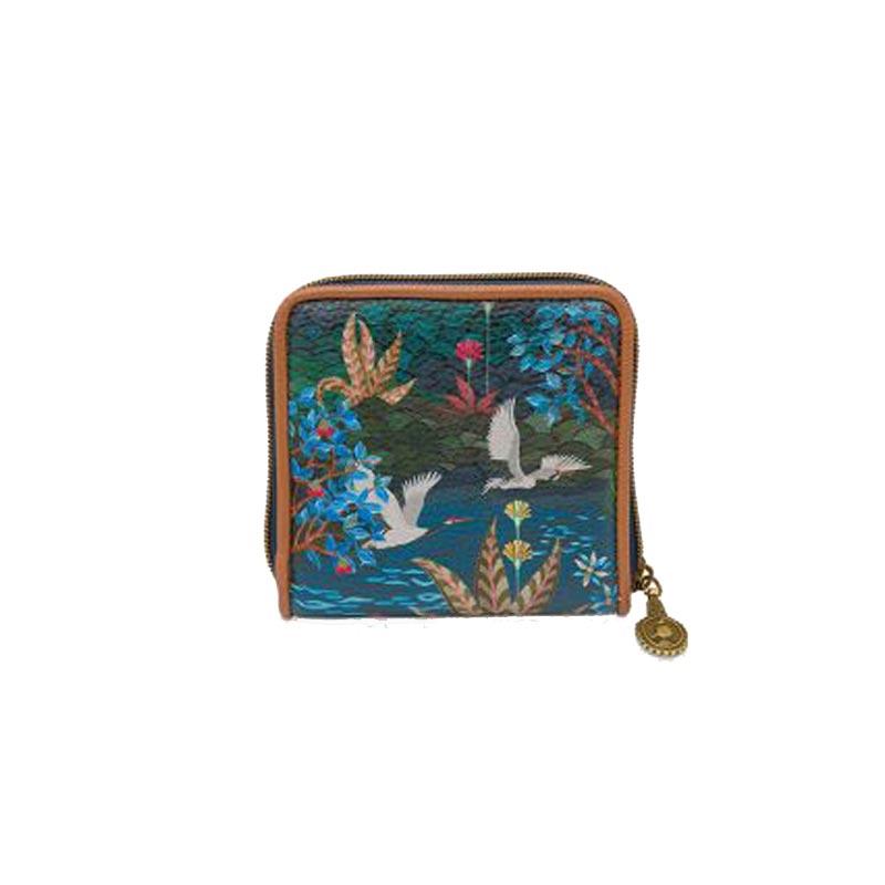 PIP Πορτοφόλι 'Pip Garden' Dark Blue 11.5x11.5cm