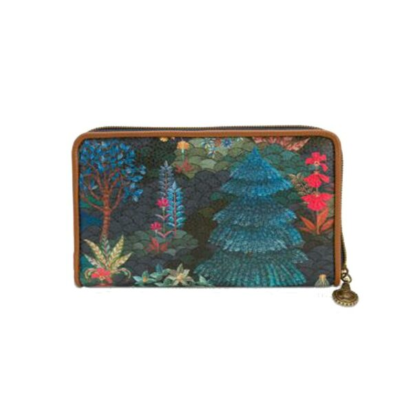 PIP Πορτοφόλι 'Pip Garden' Dark Blue 18x11x3cm