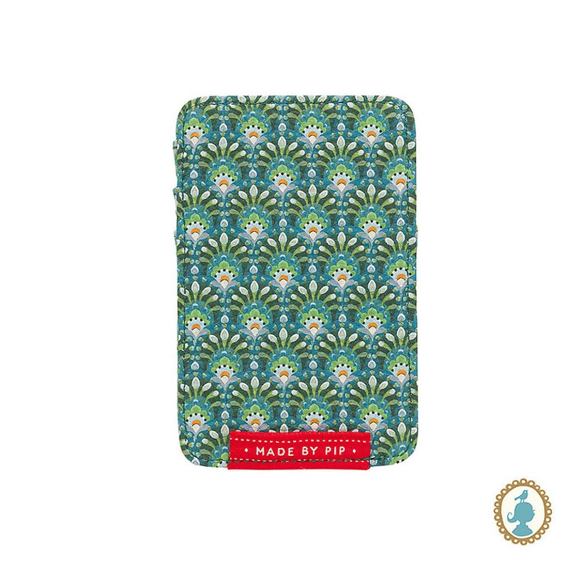 PIP Θήκη Καρτών 'Rococo' Πράσινο 11x7cm