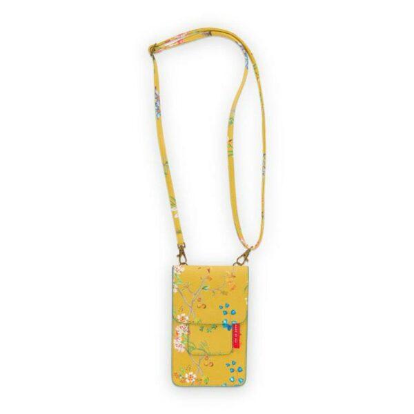 PIP Θήκη Κινητού 'Petite Fluers' Κίτρινο 11x18cm