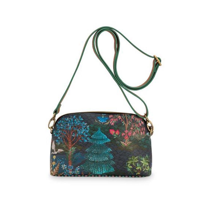 PIP Τσάντα S 'Pip Garden' Dark Blue 22x13.5x6cm